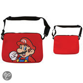 Nintendo - Laptop sleeve Super Mario Rood