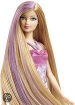 Glam Barbie: haar paars (X7885/V9516)