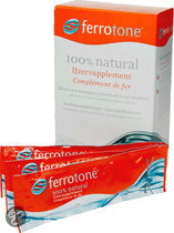 Ferrotone IJzersupplement - 14 Sticks x 20 ml
