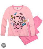 Hello Kitty Meisjespyjama - Lichtroze - Maat 128