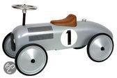 Metalen Loopauto Racer - Zilver