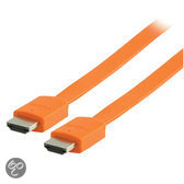 Valueline - 1.4 High speed HDMI kabel - 2 m - Oranje