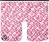 Basil Windschermflap - Blossom Roze