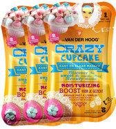 Dr. van der Hoog Crazy Cupcake - Gezichtsmasker - 3 stuks - Voordeelverpakking