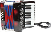 New Classic Toys Accordeon - Zwart