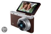Samsung NX Mini + 9 mm - Systeemcamera - Bruin