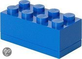 Lego Classic Lunchbox - Mini 8 - 10 x 20 x 7,5 cm - Blauw