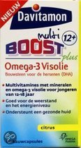 Davitamon jr boost omega3 12+ 60 st