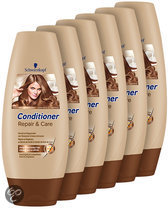 Schwarzkopf Repair & Care - 6 x 250 ml Voordeelverpakking - Conditioner