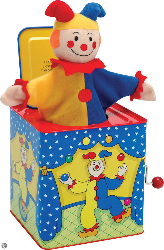 Schylling Preschool Duvel in het doosje