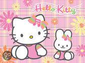 Hello Kitty In De Tuin