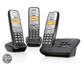 Gigaset AL230A - Quatro DECT telefoon met antwoordapparaat - Zwart