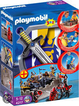 Playmobil Meeneem Ridderburcht met Schild en Zwaard - 4217