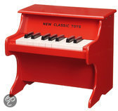 Piano rood New Classic Toys 29x28x25 cm (0155)
