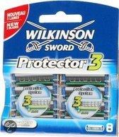 Wilkinson Sword Protector 3 - 8 stuks - Scheermesjes
