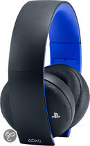 Sony PlayStation 4 Wireless Stereo Gaming Headset PS4 + PS3 + PS Vita + PC + MAC + Mobile - Zwart