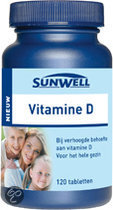 SunWell Vitamine D - 120 Tabletten