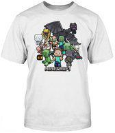 Minecraft - Party Kinder T-Shirt - 140