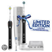 Oral-B Pro Series Cross Action Black 4500 Duo Handle - Elektrische Tandenborstel