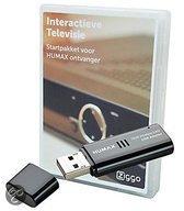 Humax Ziggo startpakket - Met Ziggo smartcard en WiFi dongle voor digitale televisie via de kabel (DVB-C)