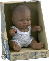 Miniland Babypop Latijns-Amerikaans Meisje 21cm
