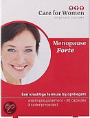 Care for Women Menopauze Forte - 60 Capsules - Voedingssupplement
