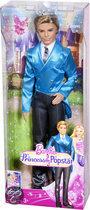 Barbie Prinses Popstar Prins Liam