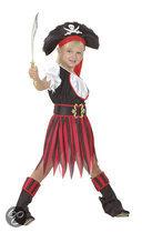 Luxe Piraat Annie - Kostuum - 4-6 jaar