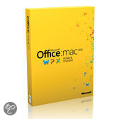 Microsoft Office Mac Home and Student 2011 French 1 License Eurozone Medialess