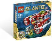 LEGO Atlantis Typhoon Turbo onderzeeër - 8060