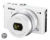 Nikon 1 J4 + 10-30 mm - Systeemcamera - Wit