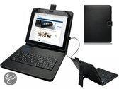 Mpman Tablet Mp969 Keyboard Case, Hoes met ingebouwd QWERTY toetsenbord, Zwart, merk i12Cover