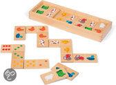 Janod Boerderij Domino - Kinderspel
