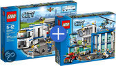 LEGO City Politie Voordeelbundel: Politiebureau 60047 + Mobiele Politiepost 60044