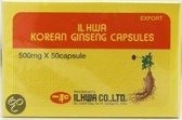 IL Hwa Ginseng Poeder 500mg 50 cap