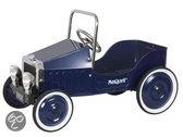 Metalen Trapauto Classic Car - Blauw