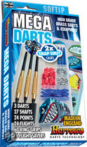 Harrows Mega Darts Giftset Softtip