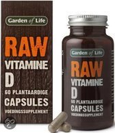 Garden of Life Raw Vitamine D - 60 Capsules