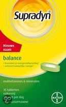 Supradyn Balance - 35 Tabletten - Multivitamine