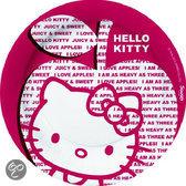 Hello Kitty Bord 10 Stuks