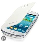 Flip Cover voor de Samsung Galaxy S3 Mini (Galaxy i8190) (white) (EFC-1M7FWEG)
