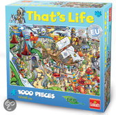 That's Life Amusement Park Puzzel