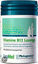 Metagenics Vitamine B12 Lozenge Tabletten 60 st