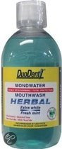 Duodent Herbal Extra White/Freshness - 500 ml - Mondwater