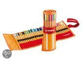 Fineliner STABILO Point 88 Be Wild Rollerset - Rollerset