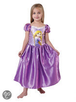 Prinsessenjurk Classic Rapunzel - Carnavalskleding - Maat M - 116/128 - 6-8 jaar