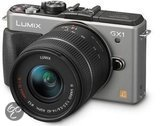 Panasonic Lumix DMC-GX1 + 14-42mm - Systeemcamera - Zilver