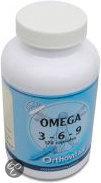 Orthovitaal Omega 3-6-9 Capsules 120 st