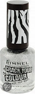 Rimmel COLOUR CRAZY TOPCOAT (CRACK TOPCOAT) - 20 Silver - Topcoat