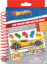 Hot Wheels Car Design Mini Sketch Book